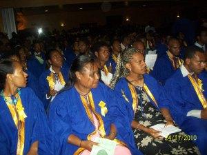 Graduating student - Business Management batch