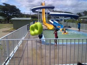 The Adventure Park water slide