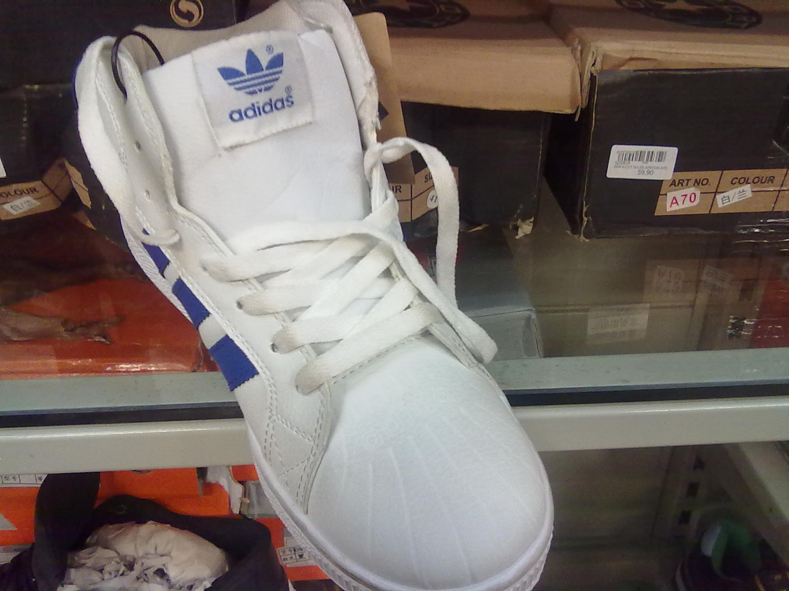 adidas shoes fake