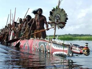 Gogodala War Canoes