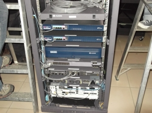 The Huawei equipment