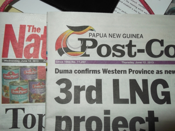 Post Courier's Early Edition