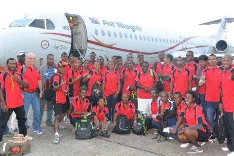 PNG Karate team