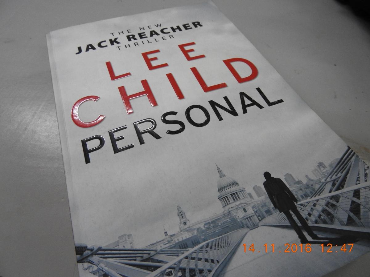 Lee Child's Personal – a 2014 Jack Reacherthriller
